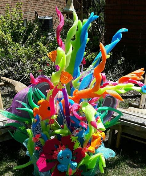 colorful kids pool party decorations shelterness