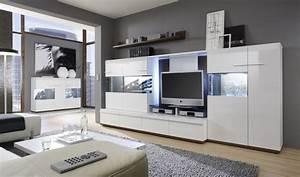 Meuble Tv Living : meuble de salon design meuble tv en bois pas cher ~ Teatrodelosmanantiales.com Idées de Décoration