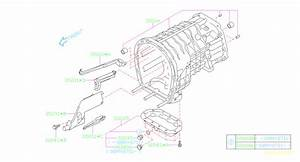 2011 Subaru Sti Oil Pan Assembly