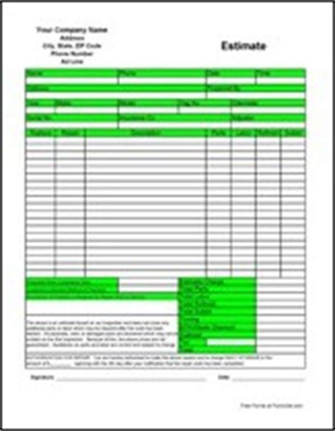 printable business forms  formville