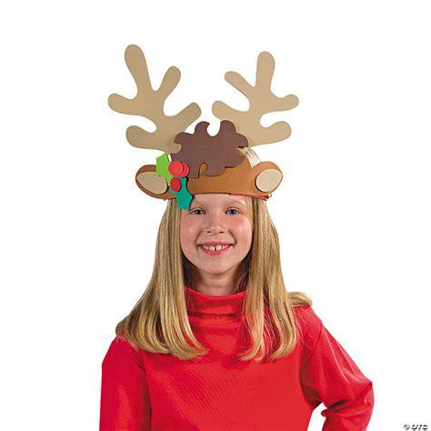 reindeer antler headband craft kit oriental trading