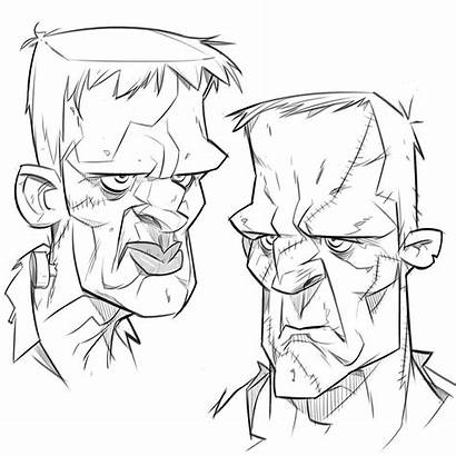 Frankenstein Tatouage Dessin Drawing Dessins