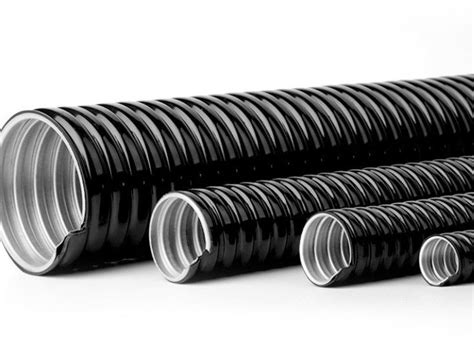 4 Inch Pvc Coated Flexible Electrical Conduit Pipe
