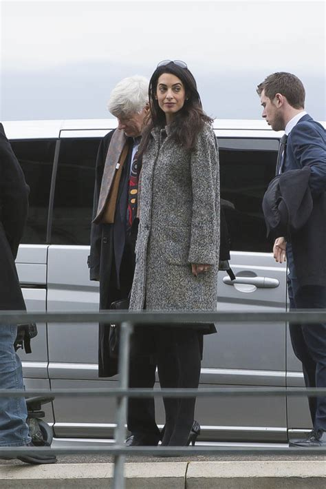amal clooney   court today arguing  armenia