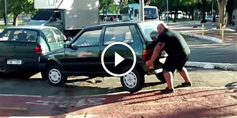 Terrible Parking Solved With Strong Bare Hands