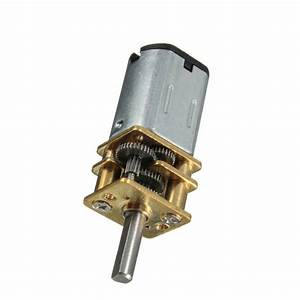 DC 6V 30RPM Micro Speed Reduction Gear Motor with Metal ...