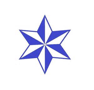 6 Point Nautical Star