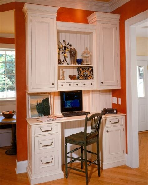 using kitchen cabinets for home office 37 best images about home office on computer 9576