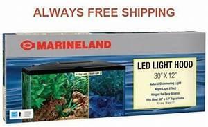 20 Gallon Fish Tank Lid With Light Aquarium Hood Ebay