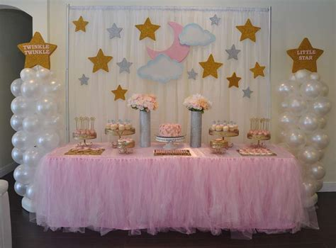 twinkle twinkle  star baby shower party ideas