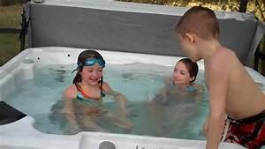 Kids in Hot Tub - YouTube