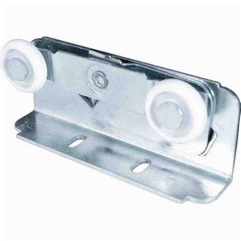 pocket door hardware rollers prime line top mounted pocket door roller assemblies 2