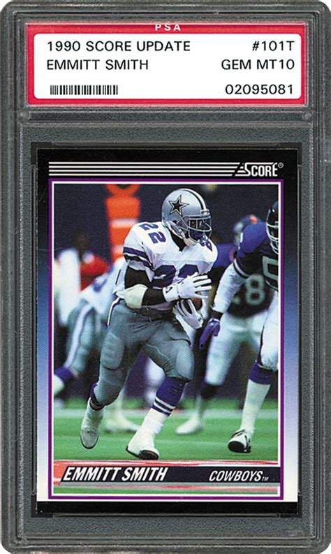 Football Cards - 1990 Score Supplemental | PSA CardFacts®
