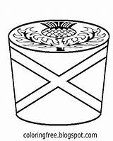 Coloring Cupcake Drawing Cake Printable Maple Teenage Tree Scottish Butterscotch Syrup Teens Swirl Whipped Cream Sugar Template Canada sketch template