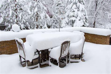 Polyrattan Im Winter Draussen Lassen by Gartenm 246 Bel Im Winter Drau 223 En Stehen Lassen Das M 252 Ssen