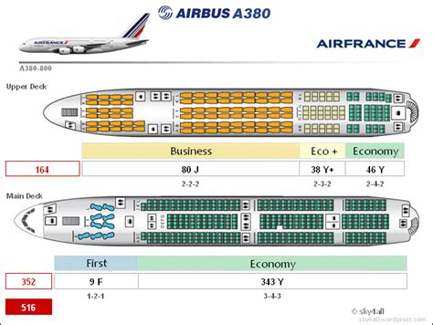 plan siege a380 air airbus a380 cabin configuration