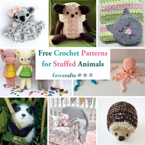 crochet patterns  stuffed animals  loveys