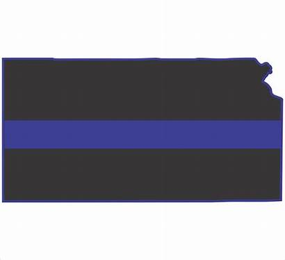 Line Flag Thin Kansas Wallpapersafari American Police