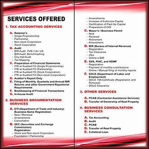 BERNS ACCOUNTING SERVICES in Antipolo City, Rizal 1870 ...