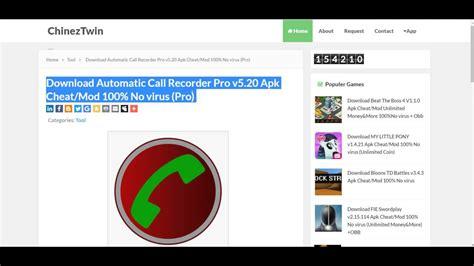 automatic call recorder pro v5 26 apk free