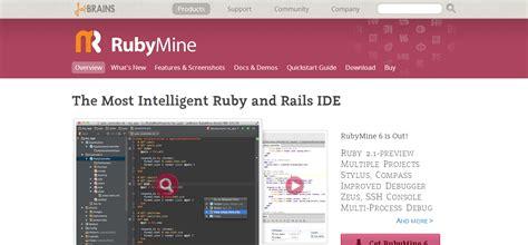 ide ruby rubymine jetbrains rails solutions web developers