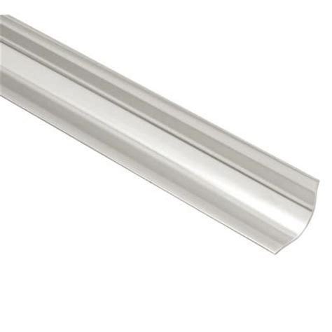 schluter eck khk brushed stainless steel 9 16 in x 6 ft