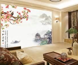 Papier Peint Chinoise by Papier Peint Asiatique Sur Mesure Style Chinois Paysage