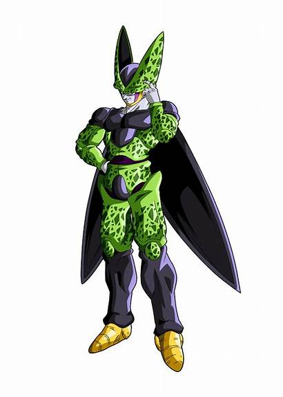 Cell Dragon Ball Perfect Render Bucchigiri Maxiuchiha22