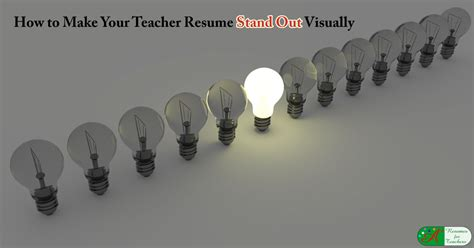 teacher resume stand