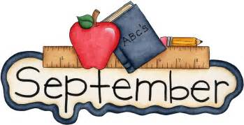 Image result for September Calendar Clip Art