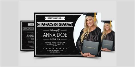 19+ Graduation Party Invitation Designs and Examples PSD