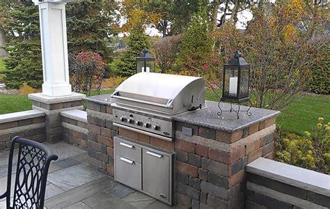 outdoor cooking station ideas brickwork stonework poul s landcaping nursery inc poul s landcaping nursery inc