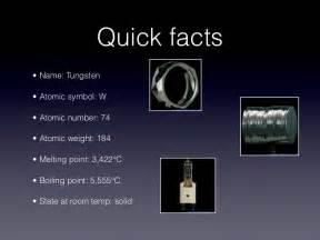 Tungsten Atomic Number