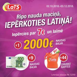 LVS :: Ripo nauda maciņā, iepērkoties Latiņā!