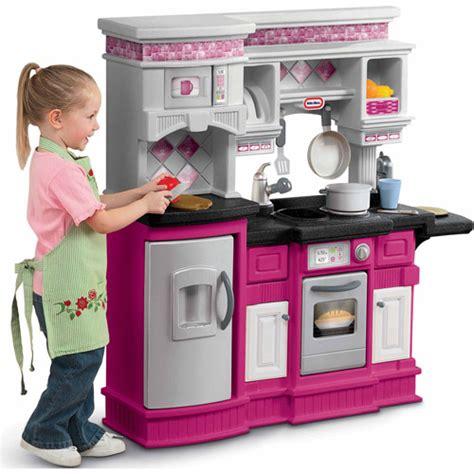 Lil Chef Gourmet Kitchen by Little Tikes Gourmet Prep N Serve Kitchen Walmart Com