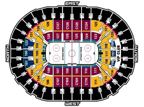 Cavs Vip Floor Seats by Quicken Loans Arena Concert Seating Vip Hrk Aero