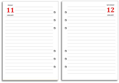 Templates For Word 2 Pages by 8 Best Images Of Printable Diary Paper Template Free