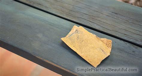 saving  ugly wood bench simple practical beautiful