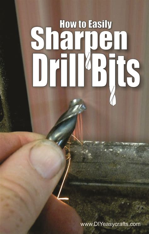 easily sharpen  twist drill bit  step
