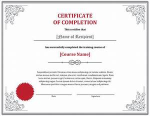 7 Training Certificate Templates [Free Download]