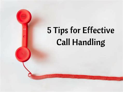5 Tips For Effective Call Handling  Lts