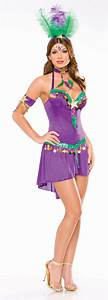 Sexy Mardi Gras Queen Adult Costume | Halloween Costumes | Other Items | Heavenly Swords