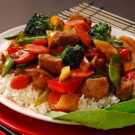 une préparation inspirée de la cuisine chinoise