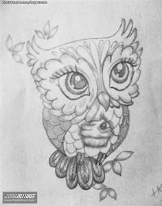 Cute Owl Tattoo Sketch | Tatt | Pinterest | Owl, Sketches ...