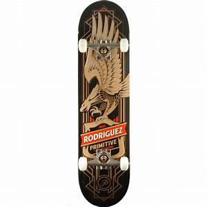 Primitive Skateboarding Paul Rodriguez Eagle Complete ...