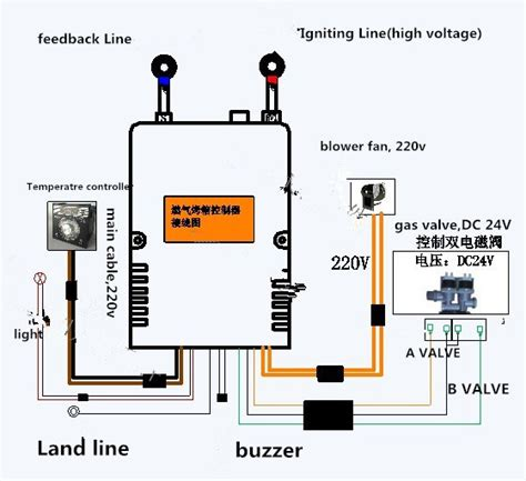 50hz 220v Wiring Diagram by For Bakery Deck Oven 220v 50hz Ecsa Ignition Module Gas