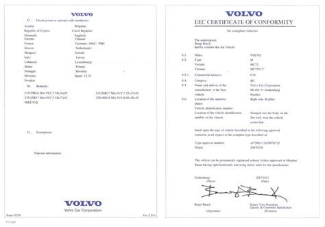 Certificat De Conformite Mercedes