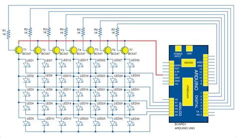 Arduino Led Yourself Electronics Project Matrix