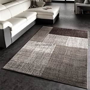 tapis salon moderne gris pas cher tendance tapis deco 2018 With tapis deco salon