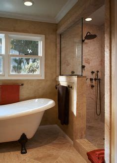 clawfoot tub separate shower design ideas pictures